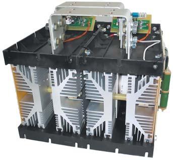 Силовой блок однофазного ключа переменного тока с применением двух охлаждающих систем О173