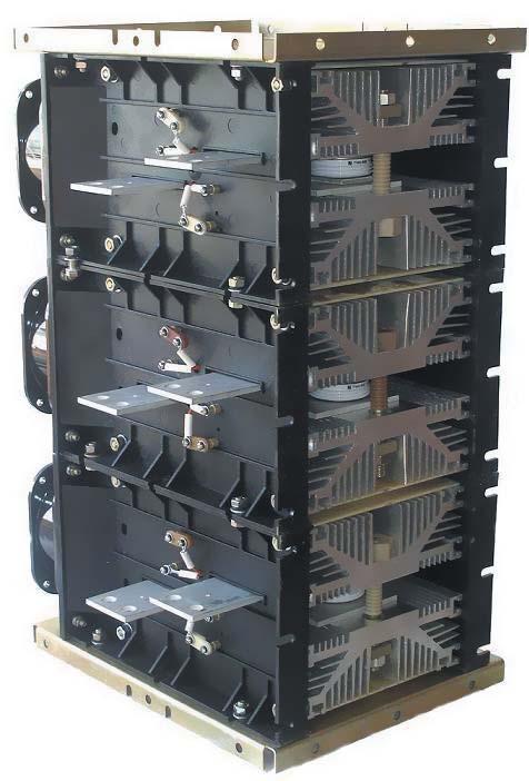 Силовой блок трехфазного ключа переменного тока