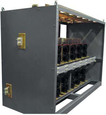 Однофазный выпрямитель наток 24 кА и напряжение 600В в шкафном исполнении