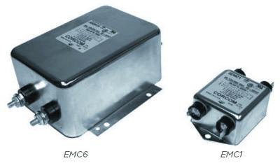 Серия EMC компактных двухкаскадных силовых RFI-фильтров