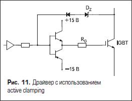 Драйвер с использованием active clamping