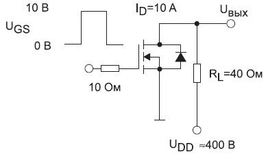 Схема измерения параметров