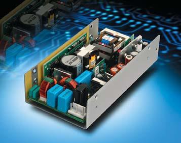 Источник питания AC/DC EFE-300M с цифровым управлением преобразованием напряжения для применений в медицинском электрооборудовании