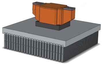 Новый биполярный модуль в сборе с охладителем О58