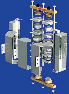 Конструктивное исполнение сборки для индукционного нагрева