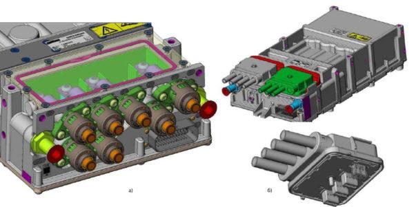 Конструкция силовых терминалов SKAI HV