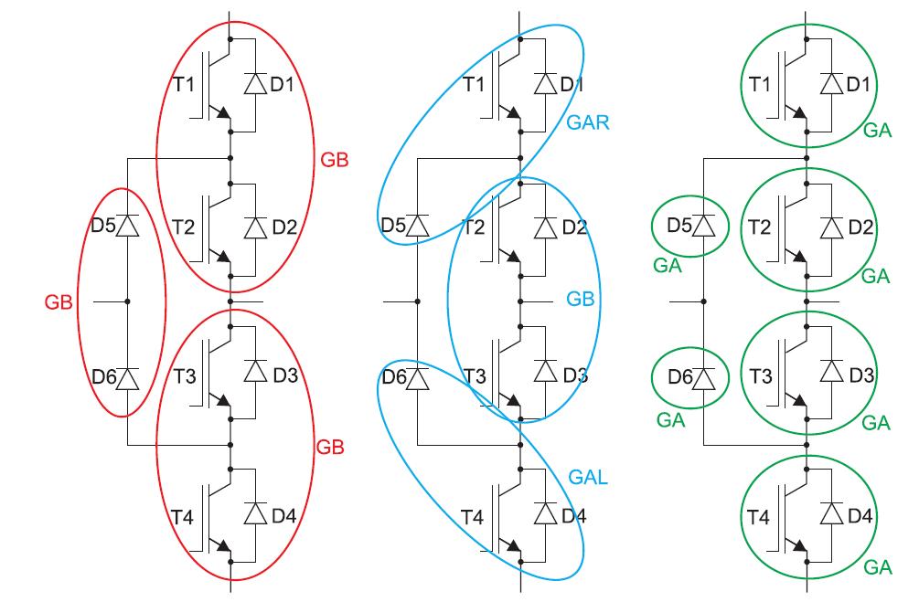 Сборка 3Lинвертора с помощью стандартных модулей