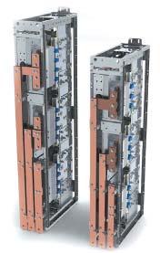 Базовые конструктивы WindSTACK типоразмера 4/3 и 2/3 с жидкостным охлаждением