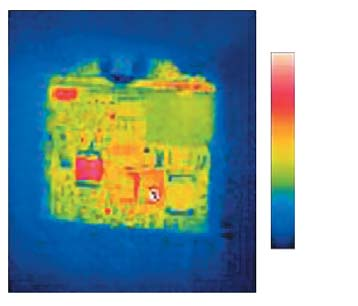 Инфракрасное изображение модуля MFP