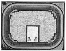 Фотография кристалла RC-IGBT на ток 3 А
