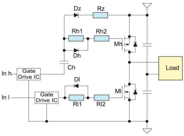 p-канальный драйвер в схеме PWM