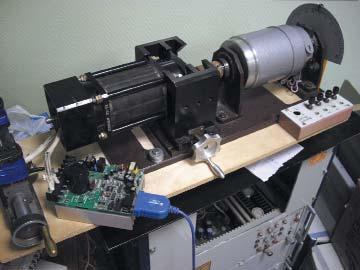 Контроллер с двигателем регистрации
