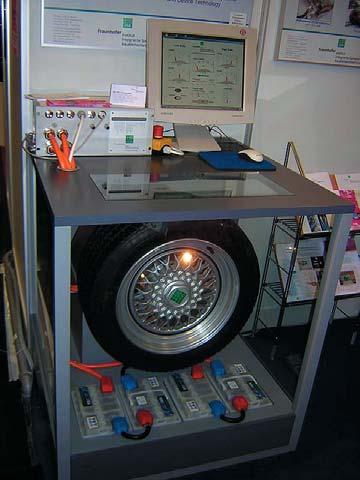 Мотор-колесо с электроприводом мощностью 100 кВ•А