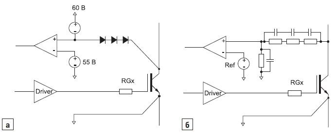 Схемы детектирования напряжения «коллектор–эмиттер», используемые в высоковольтных драйверах IGBT