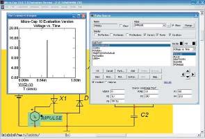 Графическое изображение и PSpice-модель генератора импульсов