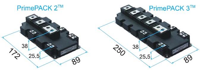 Внешний вид и габариты корпусов PrimePACK