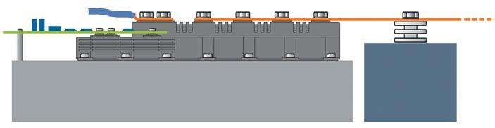 Модуль PP3, смонтированный и подключенный