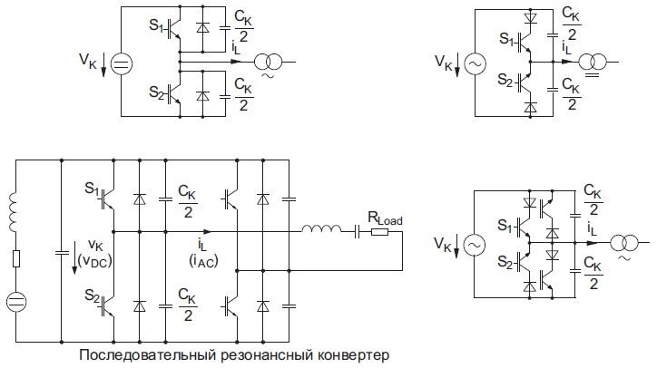 Схемы с ZVS-коммутацией