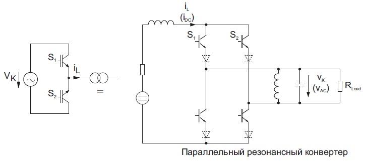 Пример схемы с ZVRS-коммутацией