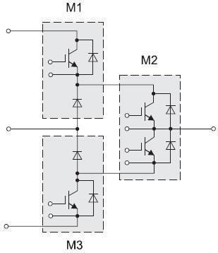 3L - схема из трех стандартных силовых модулей