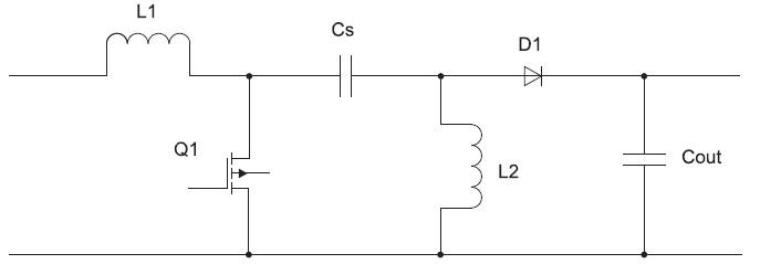Каскад преобразователя с несимметрично нагруженной первичной индуктивностью