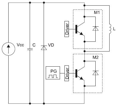 Схема силовой части установки