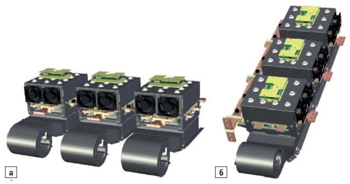Трехфазный инвертор SEMIKUBE мощностью 1МВт