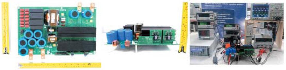 Прототип мостового ZVS LLC резонансного конвертера мощностью 8 кВт набазе 1200В SiCMOSFET