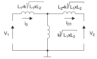 Схема замещения магнитной цепи