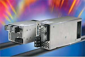 Внешний вид источников питания серии HWS-P (TDK-Lambda) с номинальной выходной мощностью 300 и 600 Вт