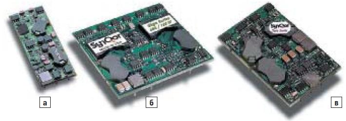 DC/DC-преобразователи группы PowerQor типового размера