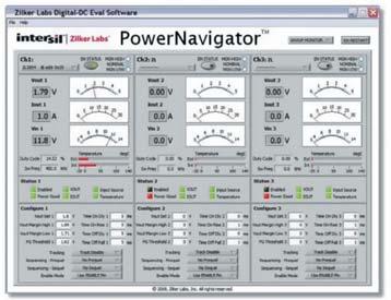 Пользовательский интерфейс PowerNavigator