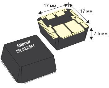 Внешний вид модулей ISL8225M