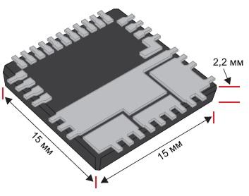 Внешний вид модуля ISL8200AM