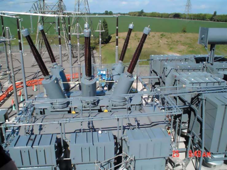 Общий вид ФПТ в британской электросети