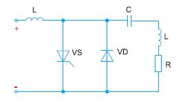Четвертьмостовой инвертор тока