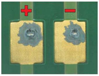 Воздействие агрессивных газов напружинные соединения MiniSKiiP/PCB