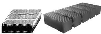 Современные конструкции положительной пластины поверхностного типа
