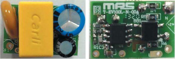 Внешний вид ИП дежурного режима набазе микросхемы MP100L