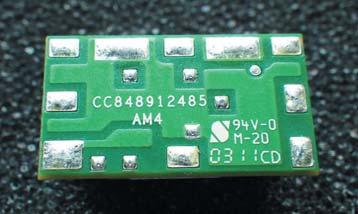 Контактная площадка LGA(Land Greed Array) модуля UVT020
