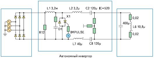 Схемотехнический файл ТПЧ