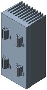 Геометрическая модель резисторной сборки