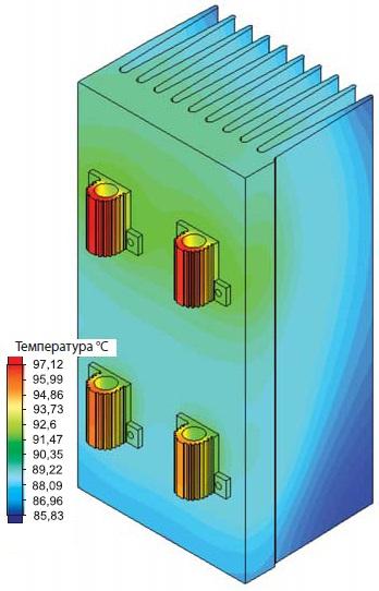 Распределение температур в твердых телах