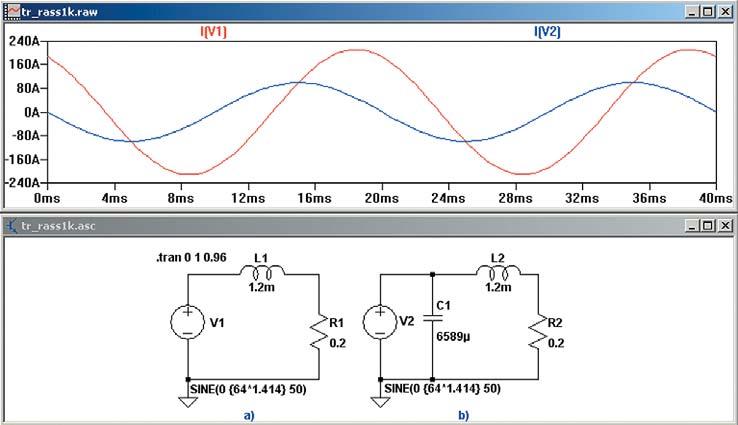 Модель цепи переменного тока