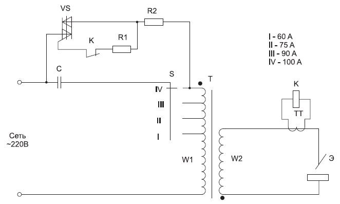 Упрощенная схема ИСТ ТСБ-90