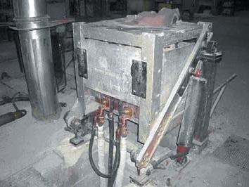 Индукционная электропечь ля плавки металлов