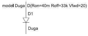 Простейшая модель дуги постоянного тока
