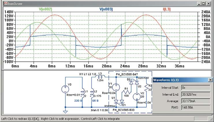 Модель источника слинейным дросселем переменного тока