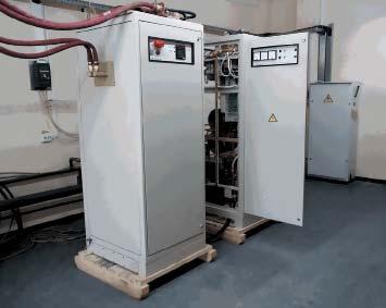 Общий вид установки ИНТ-400-1,0