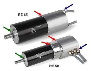 Промышленные версии двигателей RE 50 и RE 65. Тормоз AB 44